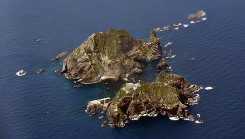 Islands called Dokdo in South Korea and Takeshima in Japan