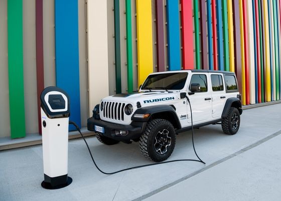This Rugged Off-Road Hybrid Is Jeep's Bridge to the Future