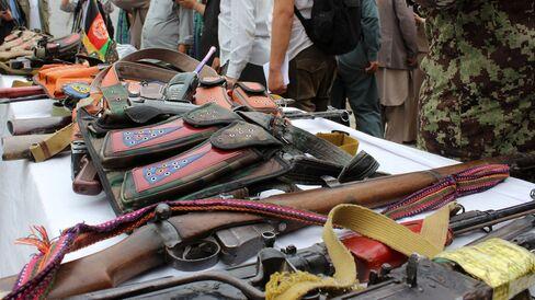 17 Taliban members surrender to authorities in Afghanistan