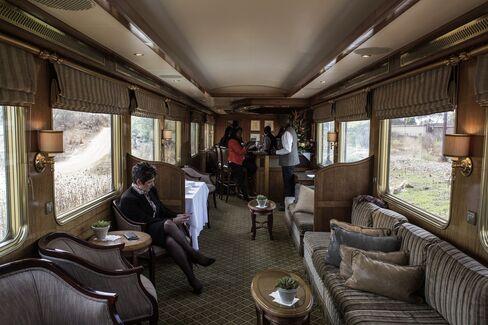 Inside the Blue Train