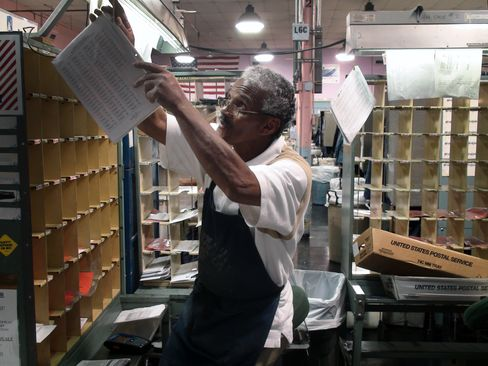 U.S. Postal Service Worker Perry Welch