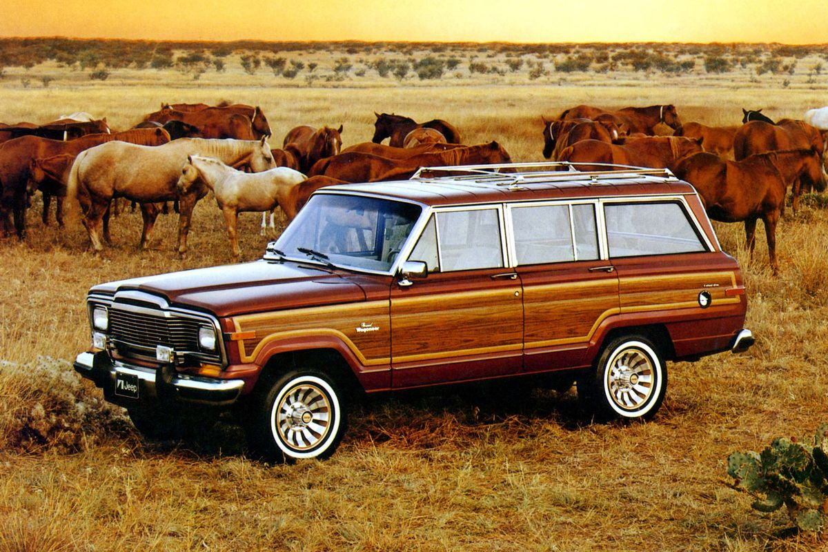 why now s the time to buy a 1984 1991 jeep grand wagoneer bloomberg rh bloomberg com 1972 Jeep Wagoneer 1980 Jeep Wagoneer