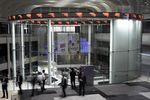 Visitors look at the trading floor at the Tokyo Stock Exchange (TSE), operated by Japan Exchange Group Inc. (JPX), in Tokyo, Japan.