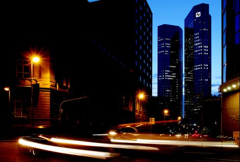 Deutsche Bank Frankfurt Headquarters Raided in CO2 Trades Probe