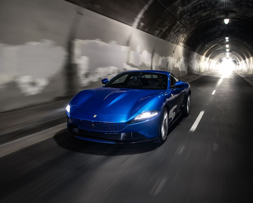 2021 Ferrari Roma Review What S Good And Bad About The Supercar Bloomberg