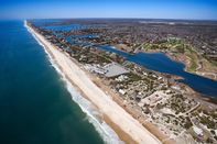 Aerial view of The Hamptons, Long Island, New York