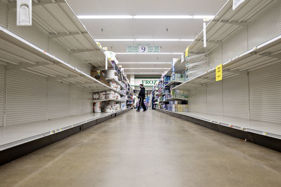 Food Rationing Confronts Shoppers Once Spoiled for Choice