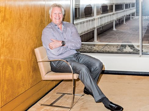 Immelt at GE's soon-to-be-former HQ in Fairfield, Conn.