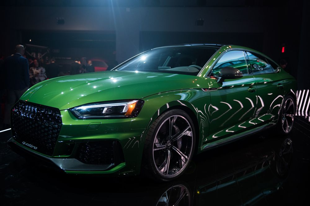 Audi Adds to 'Coupe' Confusion With 2019 RS 5 Sportback - Bloomberg