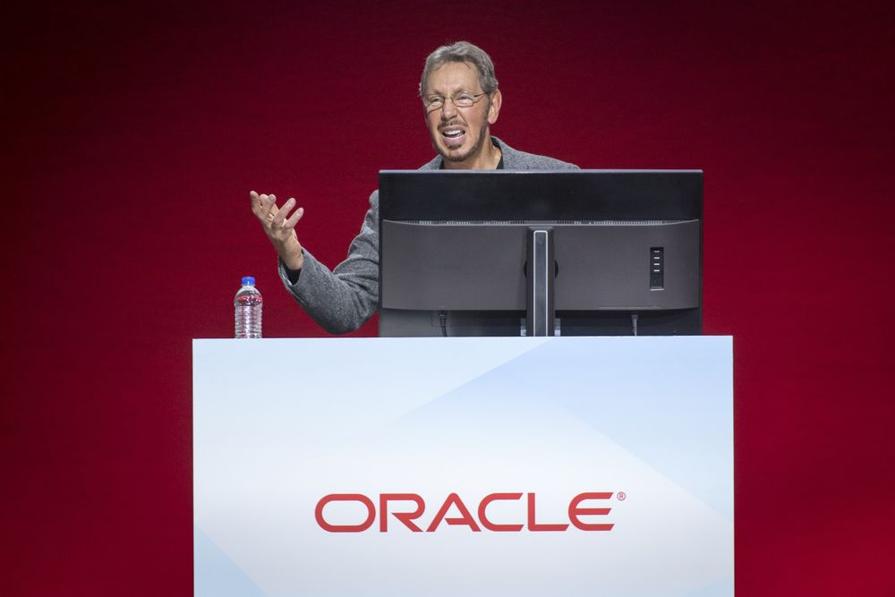 'Keep Talkin' Larry': Amazon Is Close to Tossing Oracle Software