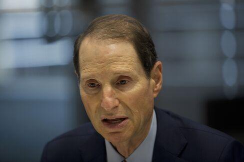 Senate Finance Chairman Ron Wyden