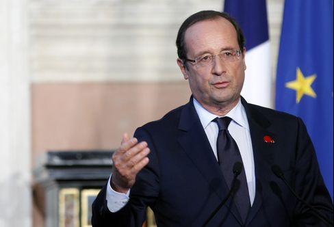 Test of French Millionaire Tax Is What Hollande Gets in Return