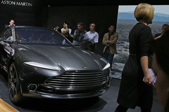 Aston Martin Tries to Get More Women in Boardroom and Showroom