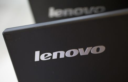 Lenovo Profit Rises 13% as Share Overtakes Hewlett-Packard
