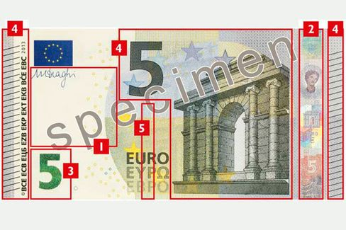 Euro Banknotes Designed to Foil Counterfeiters Also Defeat Vending Machines