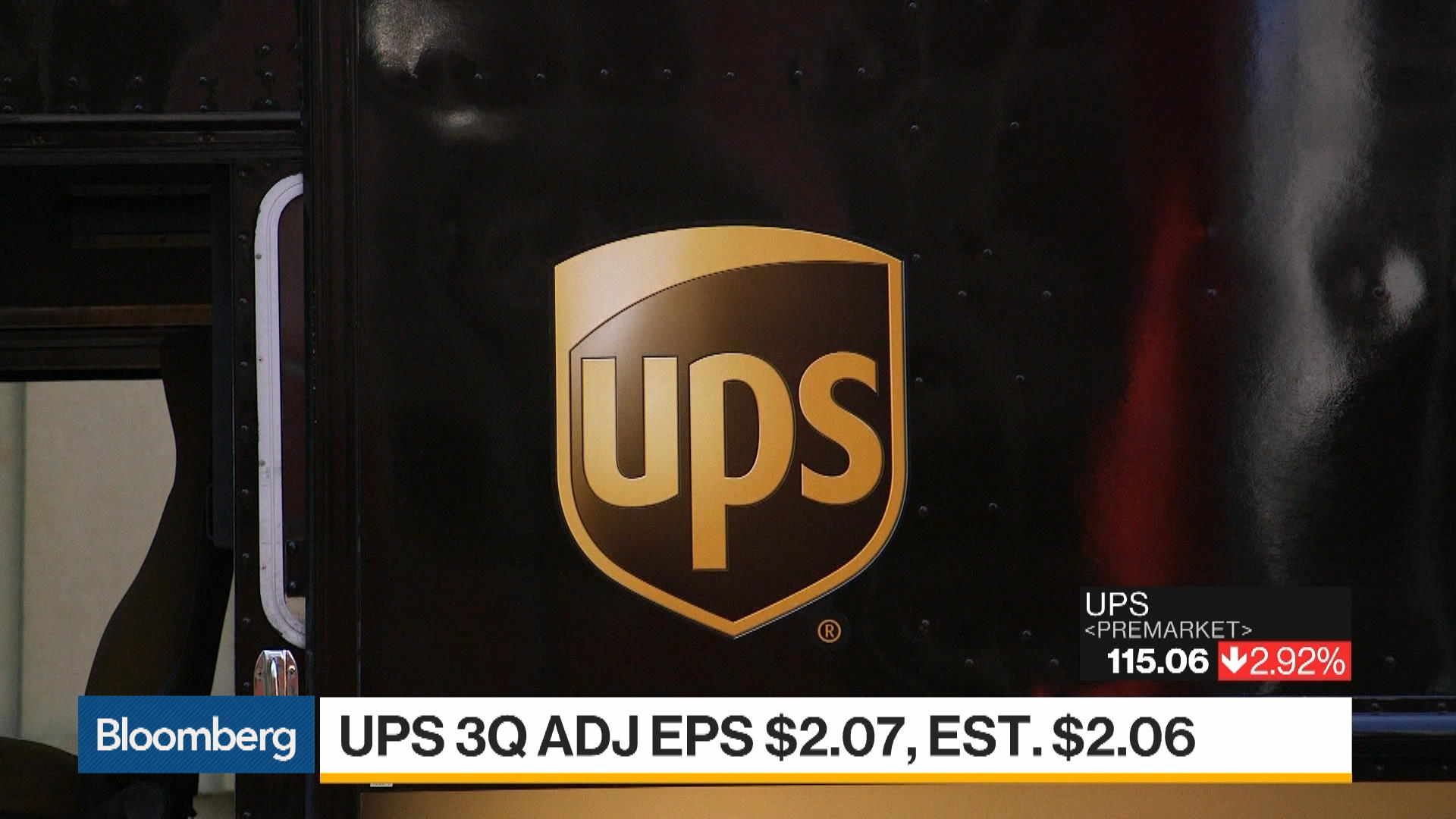 Earnings: UPS Beats on 3Q Adjusted EPS, COO Barber to Retire