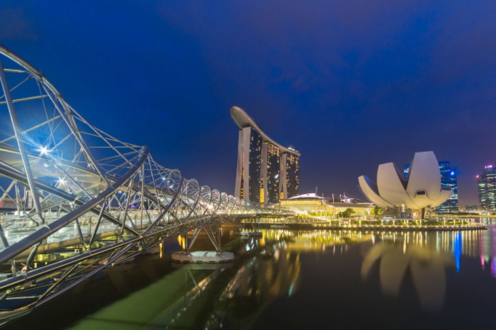 Singapore Dreams of Its Own J.P. Morgan