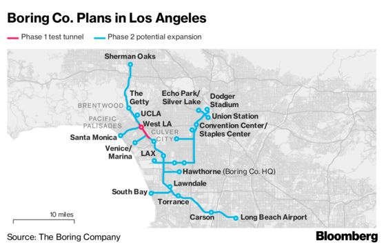 Elon Musk's Tunnel Vision for Los Angeles