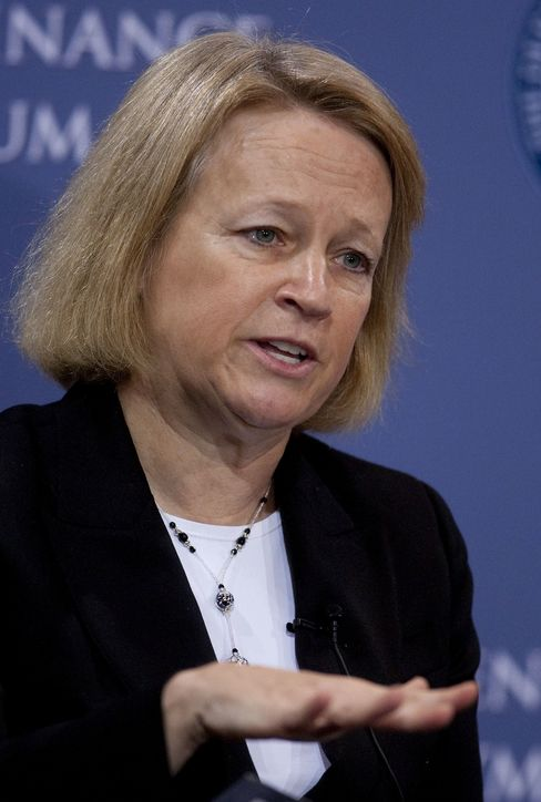 Mary Schapiro, of the Securities and Exchange Commission
