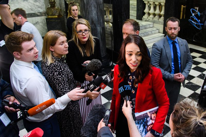 New Zealand's Ardern Ramps Up Spending in Her `Wellbeing' Budget