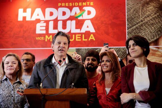 Brazil Stocks, Currency Surge as Bolsonaro Takes Commanding Lead