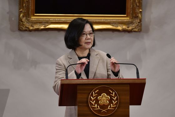 Taiwan's Leader Signals Firm Line on China After Election Defeat