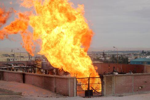 Blast Hits Egypts Gas Pipeline to Israel, State Media Say