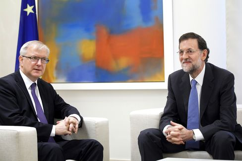 EU Doubts on Deficit Cutting May Hinder Spain's Path to Bailout