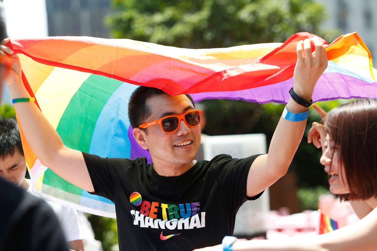 Shanghai gay sight spot