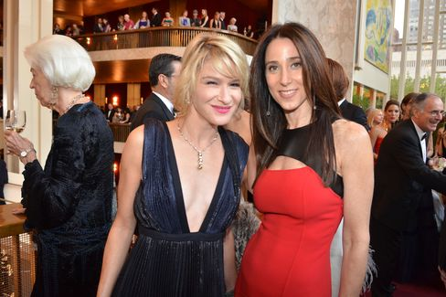 Julie Macklowe and Stacey Bronfman