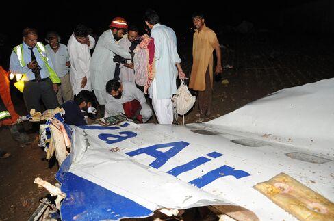Plane Crash Kills 127 Near Islamabad During Thunderstorms