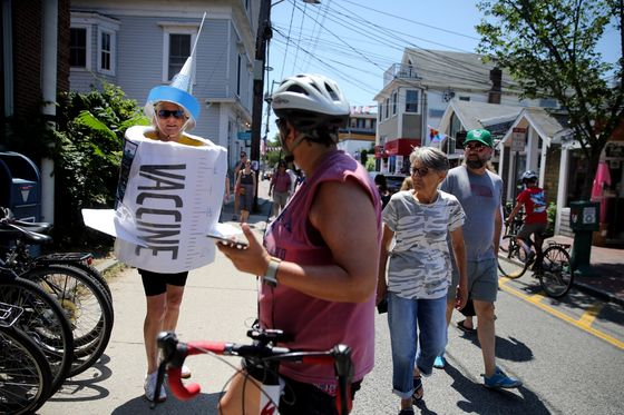 In Provincetown, Covid Hits 14 Friends in Show of Delta's Might