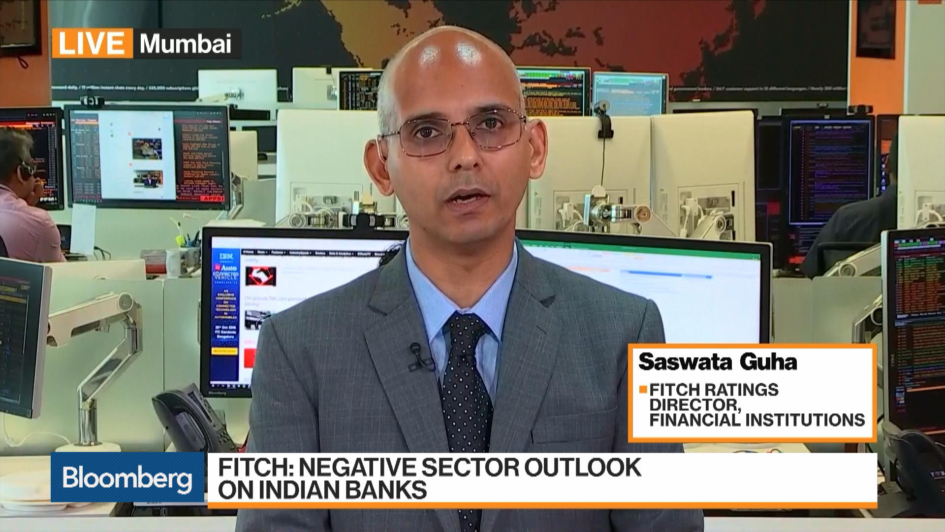 Fitch Ratings Has a Negative Sector Outlook on Indian Banks