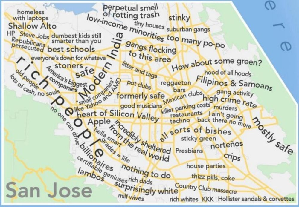 A Profane Judgemental Urban Dictionary Map Of The San Francisco Bay Area Bloomberg It encompasses nine counties surrounding the san francisco bay. san francisco bay area