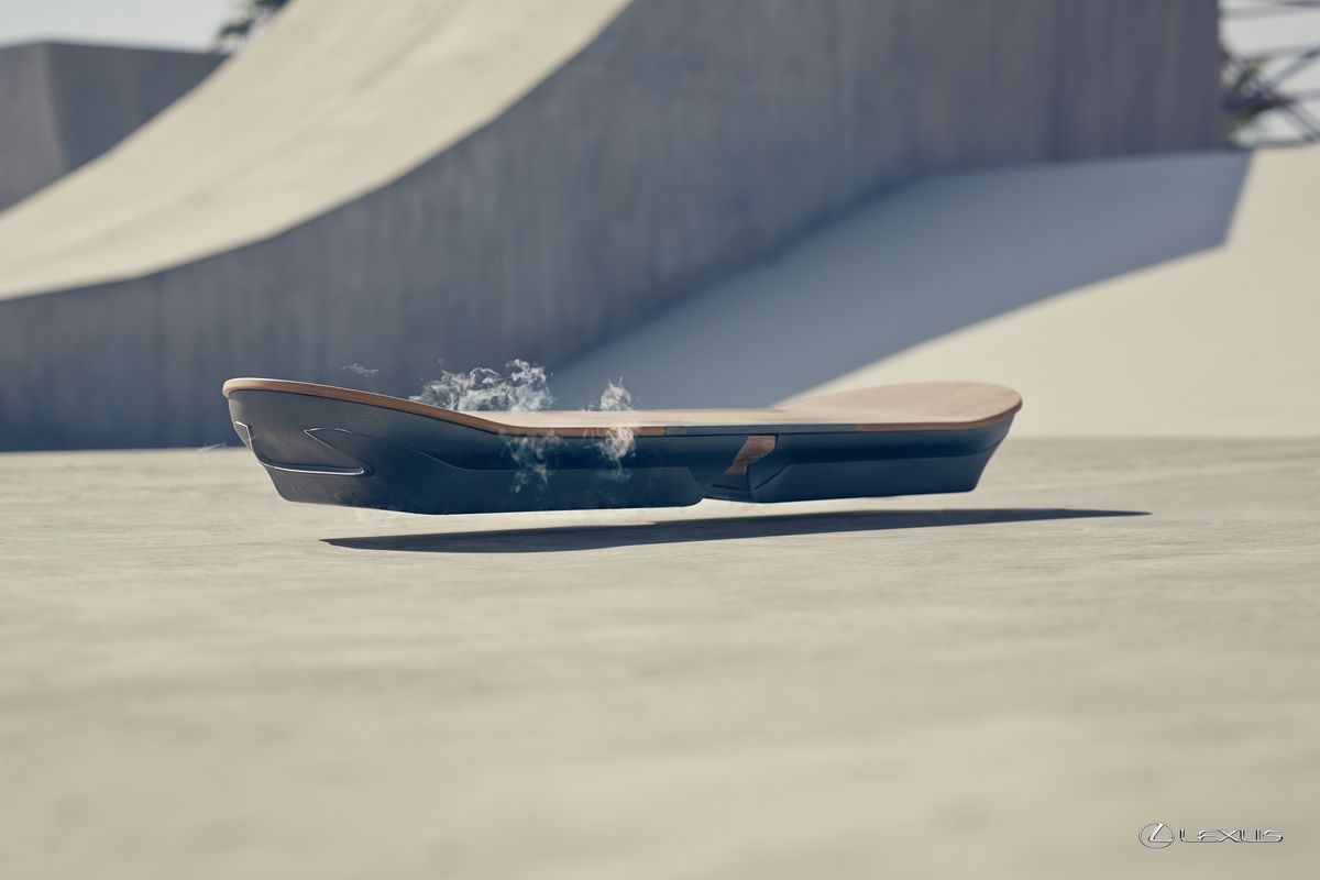 Lexus Builds a Functional Hoverboard Prototype