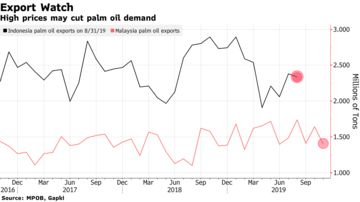 High prices may cut palm oil demand