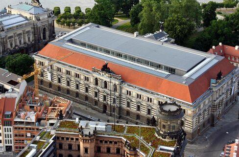 The Albertinum in Dresden, Germany