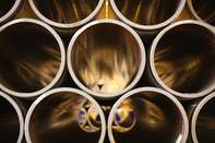 Industrial Pipe Production At Severstal's Izhora Pipe Mill