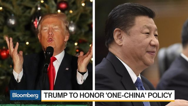 Trump Reaffirms 'One China Policy' in Call With China's Xi