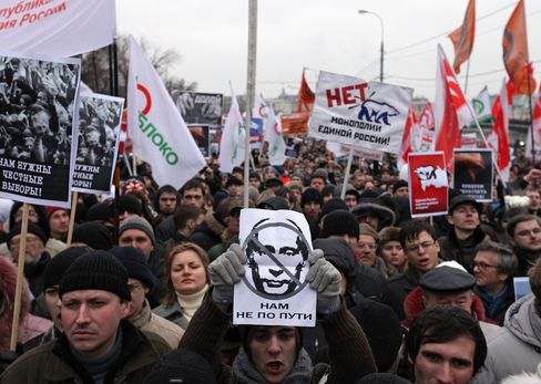 Putin Rides Out Russia's Protest Wave