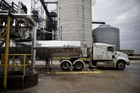 The POET LLC Ethanol Biorefinery As Stockpiles Of U.S. Corn Ethanol Sinks