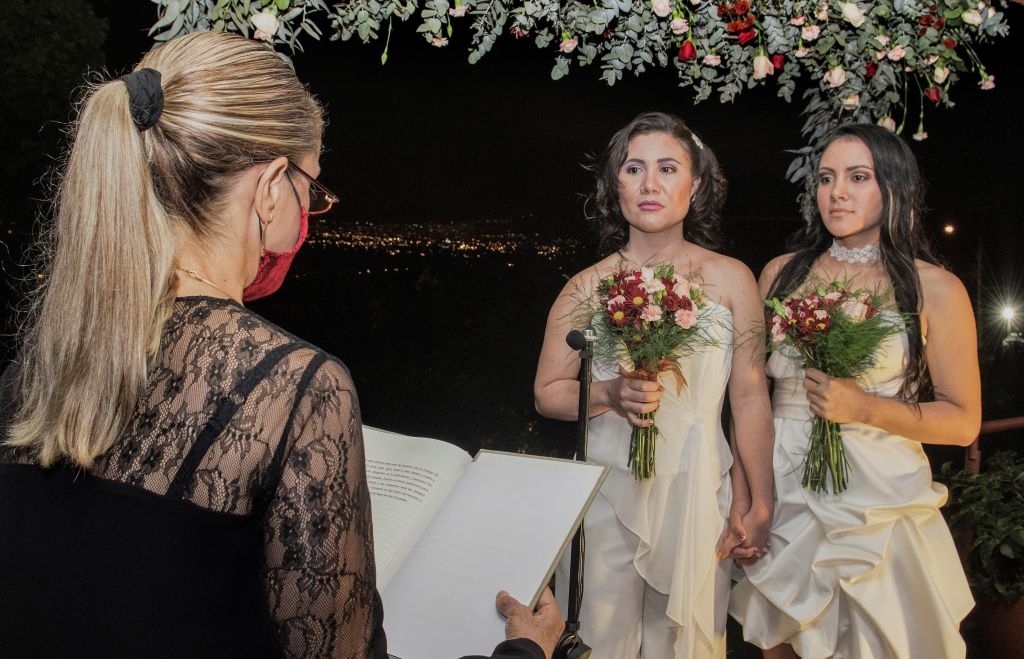 COSTA RICA-RIGHTS-LGBT-MARRIAGE