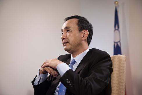 Taiwan's Ruling Party Presidential Candidate Eric Chu Interview