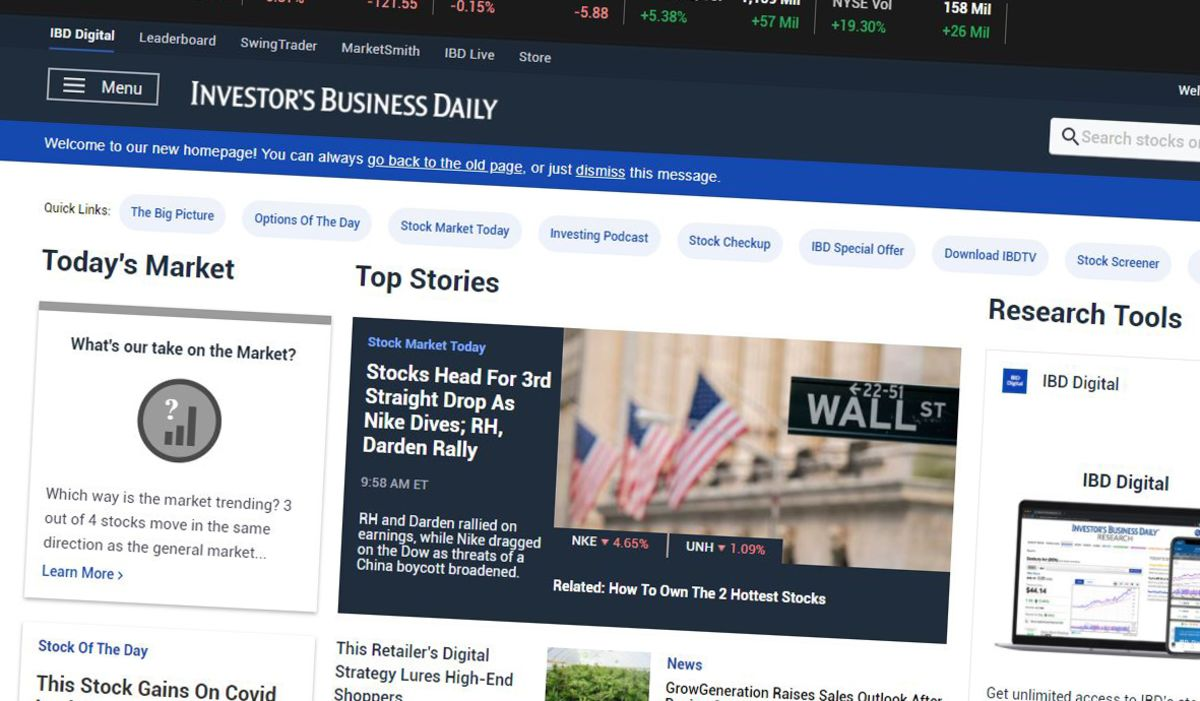 <p>News Corp.. </p>Acquires Investor's Business Daily for $275 Million thumbnail