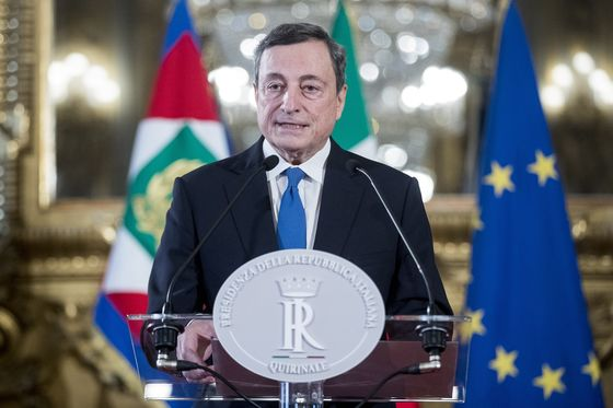 Ex-ECB Chief Draghi Accepts Mandate to Form Italy Government