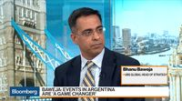 relates to Argentina Default Risk Rising, Not Inevitable: UBS's Baweja