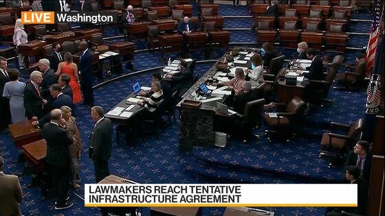 Senators Reach Infrastructure Deal; Schumer Preps First Vote