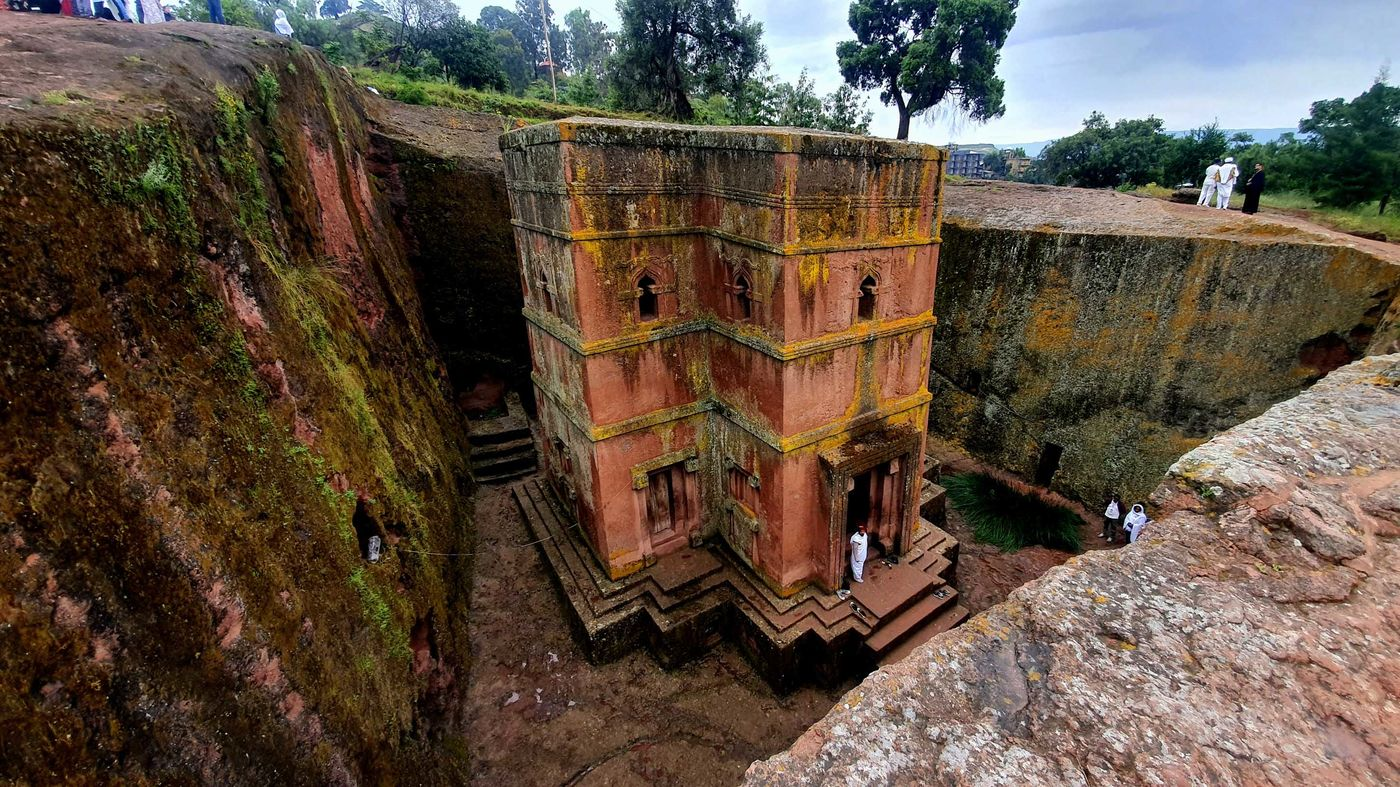 Church of St. George in Lalibela