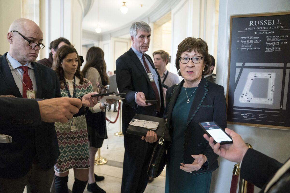 Susan Collins Calls on Mnuchin to Defer Tariffs for U.S. Companies