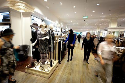 David Jones Drops After Forecasting Smallest Profit